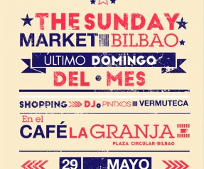 THE SUNDAY MARKET este domingo en el CAFÉ LA GRANJA